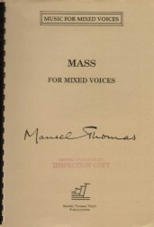 mass for mixed voices