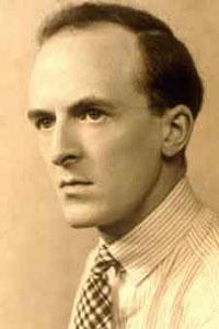 Composer Mansel Thomas as a Young Man